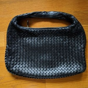 Bottega Veneta black medium Veneta hobo
